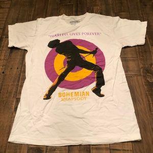 Bohemian Rapsody graphic t-shirt medium